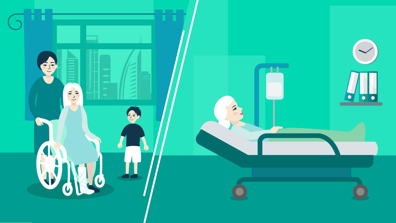 Nursing homes vs. assisted living care for the elderly