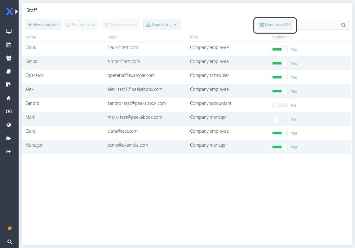 Peekaboox - Generate SIF report - WPS UAE